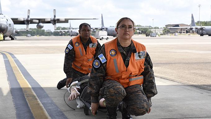 Guatemalan Air Force visits 189th MDG