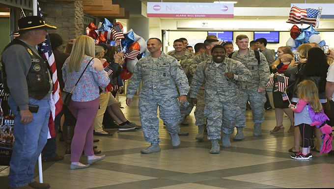 189th Security Forces Flight Return from Deployment