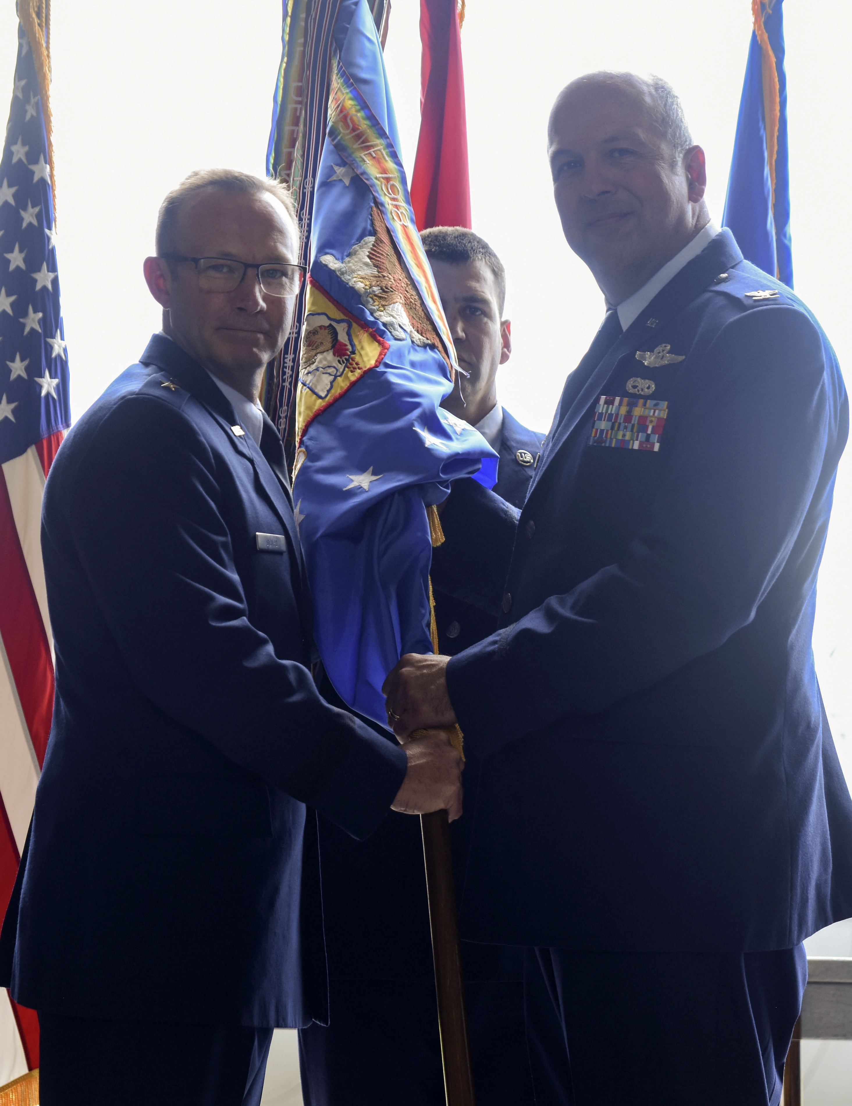 189th Airlift Wing Change of Command