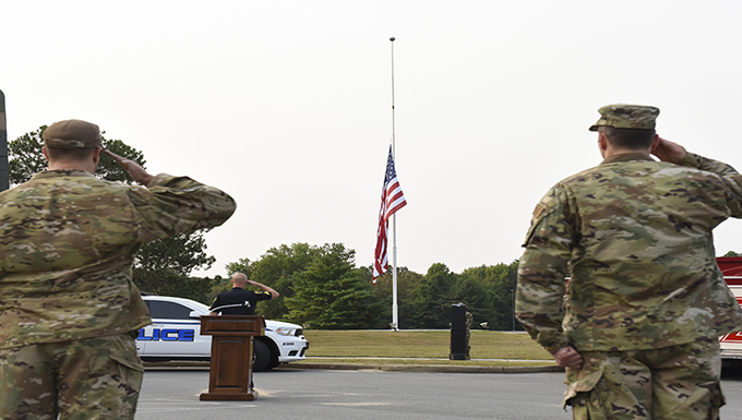 189th Airlift Wing hosts 9/11 Remembrance Ceremony