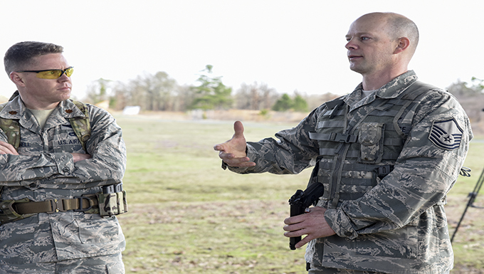 189th Airlift Wing marksmanship team shoots for excellence