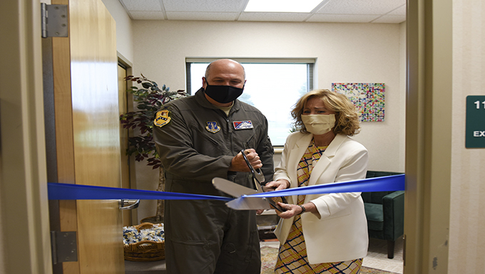 189th Airlift Wing creates dedicated space for nursing mothers
